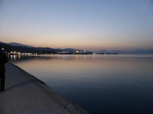 aigioachaiagreece landscape sea sky lights dusk reflections 7dwf sundaylights
