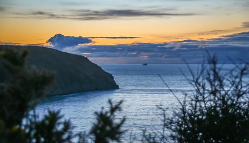 andygocher canon100d canon100dsigma18250 sigma18250 uk europe greatbritain wales westwales southwales pembrokeshire coastalpath sunset sea seascape landscape