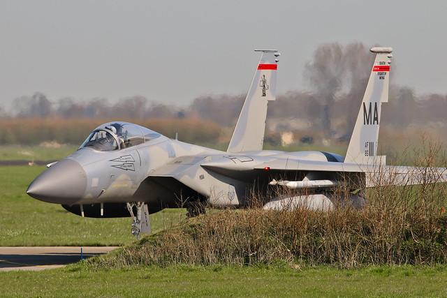 F-15C 85-0111/MA  USAF