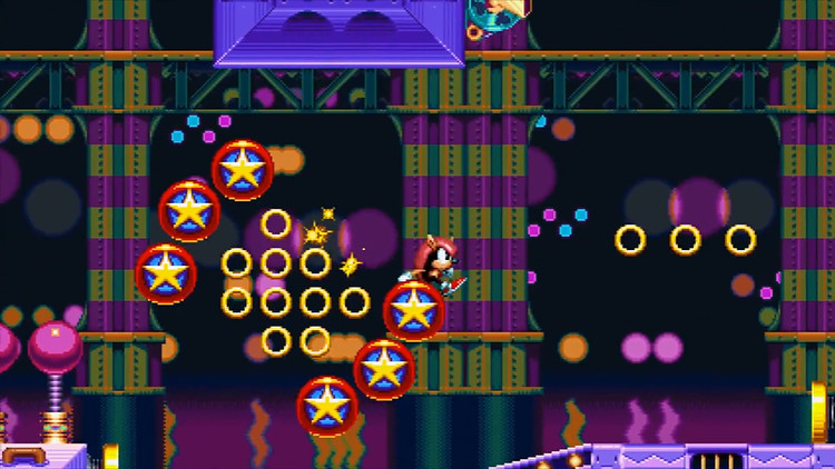 Sonic Mania Plus Mighty in Studiopolis Encore Mode | Flickr