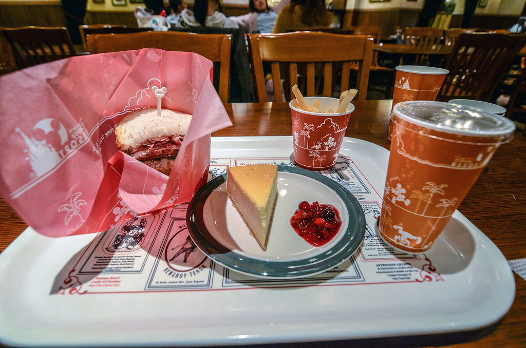 New York Deli tray of food TDS