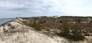 Sandbanks panorama lakeside dunes | by Pierre Yeremian