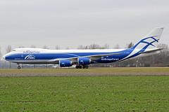 ABC - Air Bridge Cargo Boeing 747-83QF VQ-BFU AMS 23-03-18