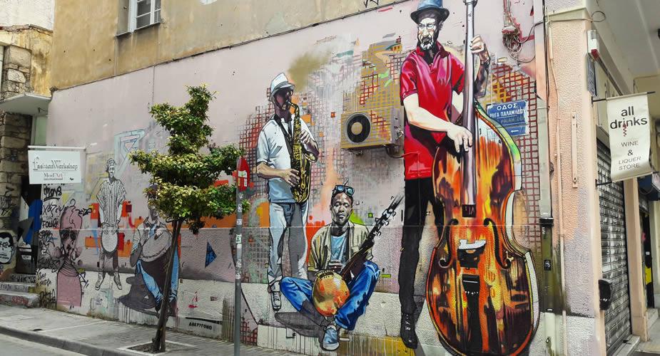 Street art in Athene | Mooistestedentrips.nl