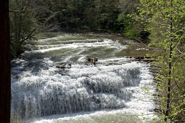 Middle Falls at Burgess Falls SP