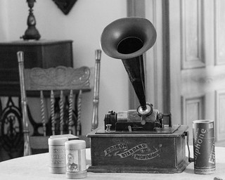 Edison Phonograph in Plaza Hall | by donjd2