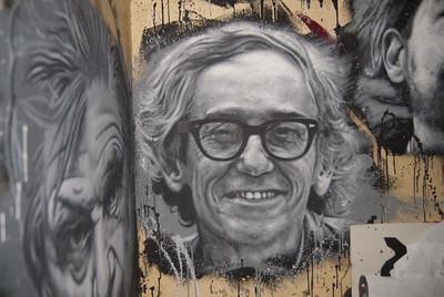 Christo Vladimiroff Javacheff, painted portrait _DDC2107