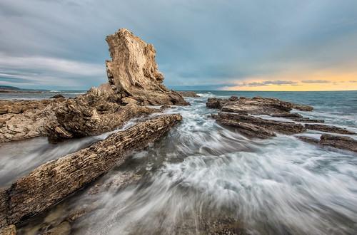 ocean seascape rock del canon mar rocks corona 1740mm salah 6d bmse baazizi