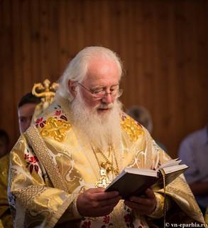 Божественная литургия в пос.Котово 240