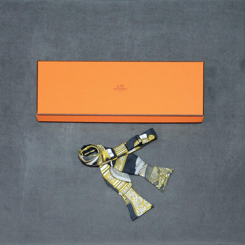 Hermès Silk Bow Tie