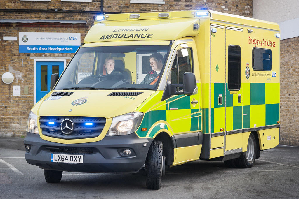 2014 Mercedes Sprinter ambulance | One of the new Mercedes S