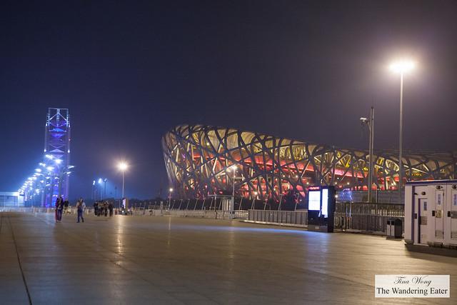 Olympic Stadium's Bird Nest, Beijing, China
