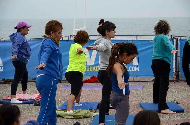 Yoga Playa del Deporte