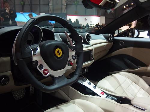 Ferrari California T Interior | 2015 Geneva Motor Show ...