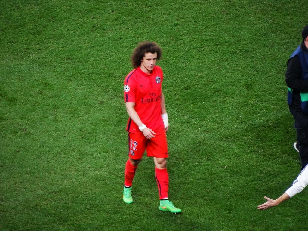 David Luiz transfer odds