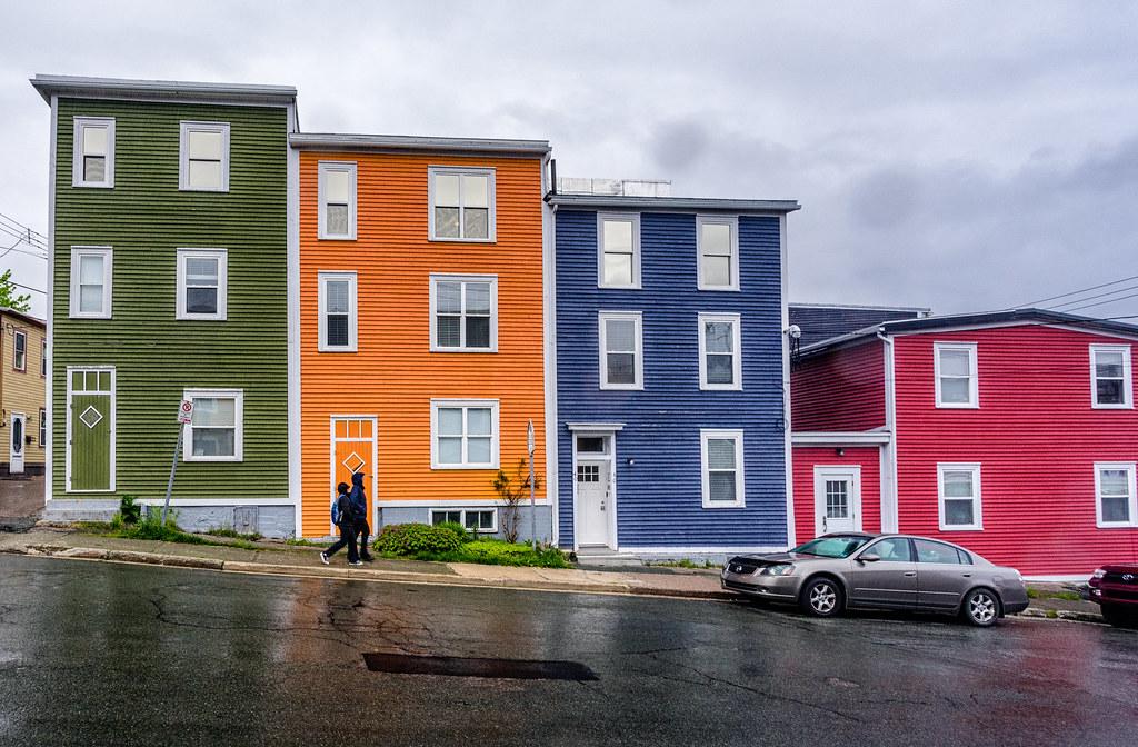 Jelly Bean Row >> Jellybean Row House St John S Newfoundland Roaming The World
