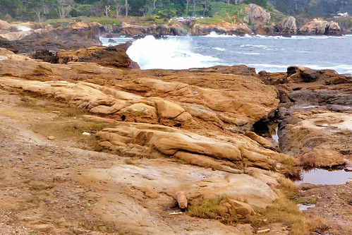 pointlobosreserve montereybay montereypeninsula monterey california pacificocean rocks waves waveoverrocks water waterpictorial joelach