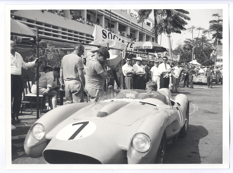 Auto race, Leopoldville, 1958