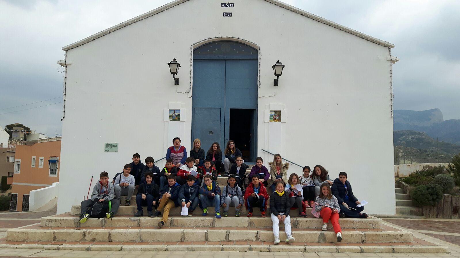 (2016-03-18) - aVisita ermita alumnos Pilar, profesora religión 9´Octubre - María Isabel Berenguer Brotons (08)