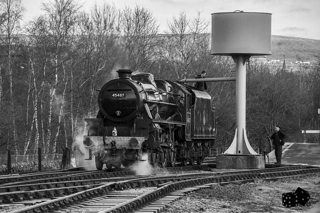 Black 5 45407 Lancashire Fusileer