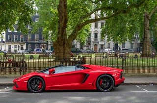 Red Roadster.