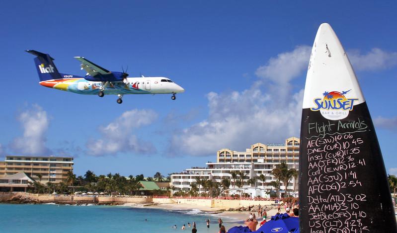 Princess Juliana Airport, St Maarten, Netherlands Antilles