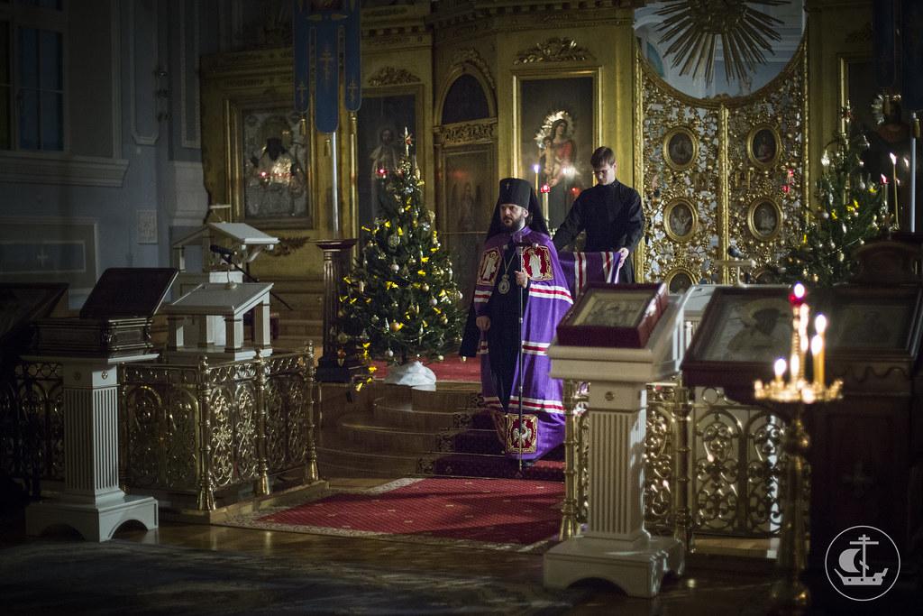 5 января 2015, Вечернее богослужение / 5 January 2015, Vespers