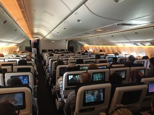 Air New Zealand Boeing 777-300ER Economy Class Cabin | by Jun Seita