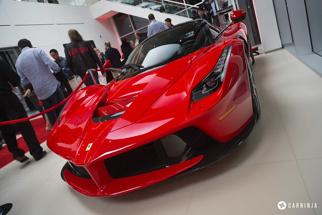 Ferrari South Bay Grand Opening