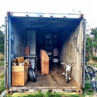 Shipping Container. It's like a living box of tetris. | by miaow