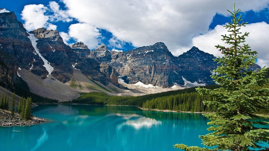 Moraine Lake Banff National Park Alberta Canada 2560x