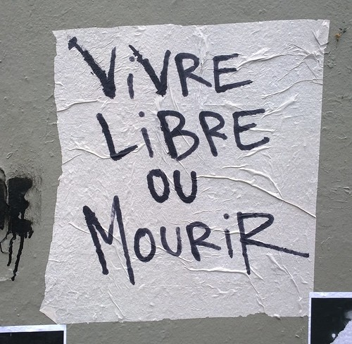 """Vivre libre ou mourir"" Paris 2015 | by Ithmus"