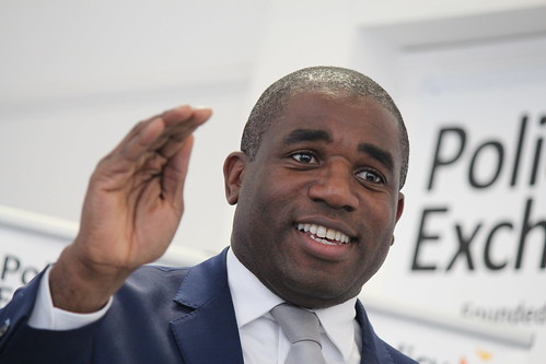 Rt Hon David Lammy MP speaking at the launch of his report Taking Its Toll | by Policy Exchange