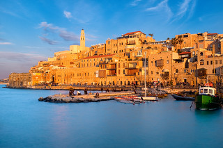 Jaffa Port During Golden Hour | by IRRphotography