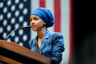 Ilhan Omar | by Lorie Shaull
