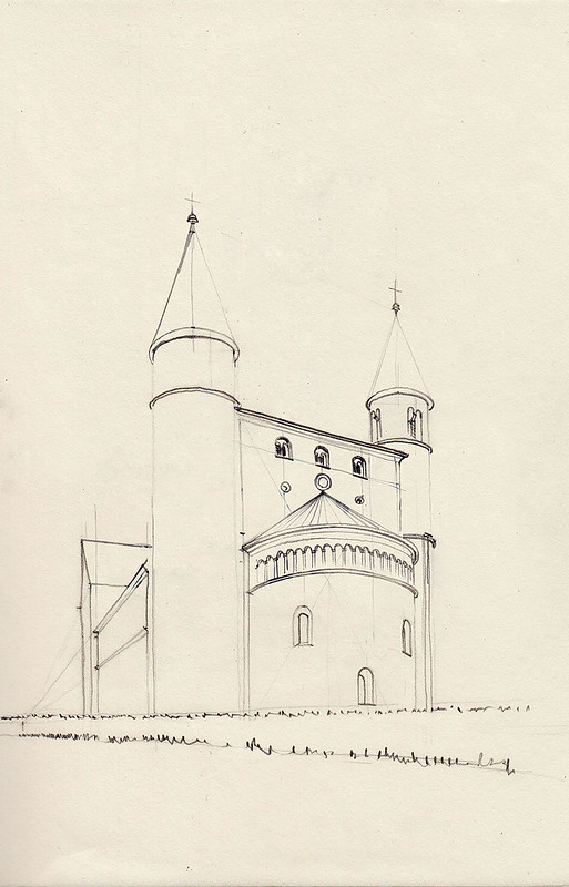 Gernrode, Stiftskirche St. Cyriakus, Westseite