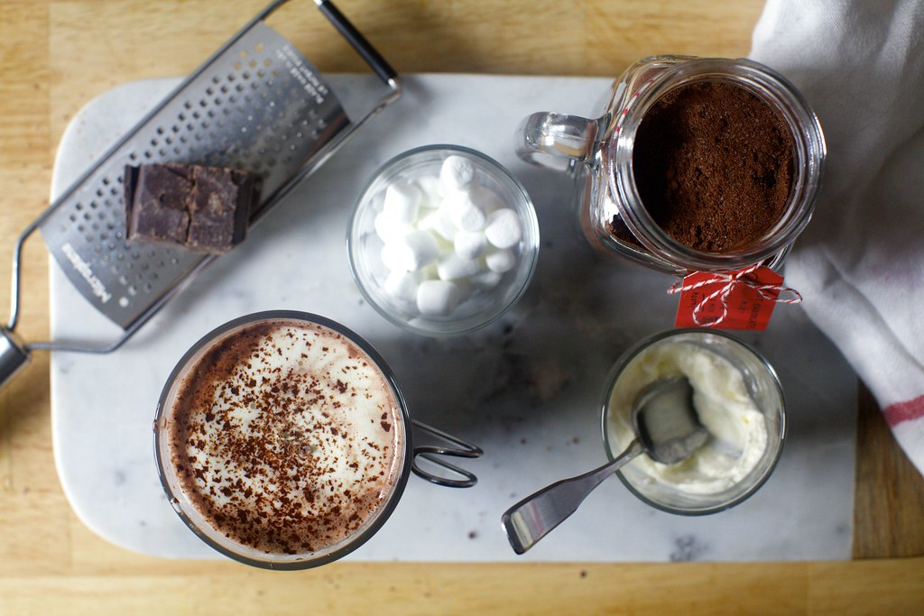 Fixings Of Choice Decadent Hot Chocolate Mix On Smittenkit Deb Flickr