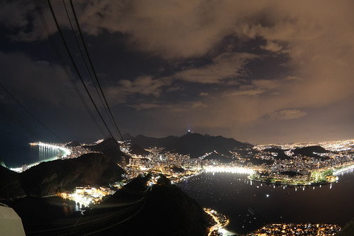 Rio de Janeiro at Night | by nan palmero