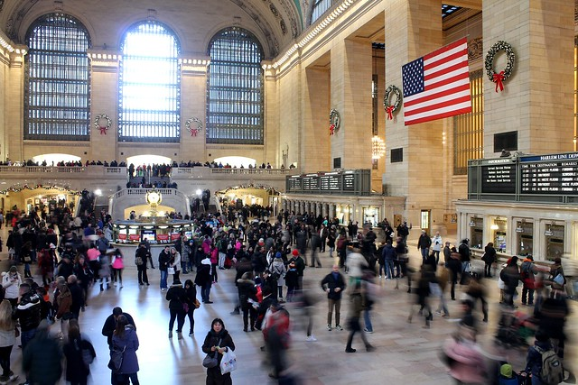 Grand Central Tourists Bustle About