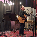 Tue, 03/02/2015 - 12:37pm - Longtime FUV fave Martin Sexton in performance for WFUV members at Electric Lady Studios in NYC, 1/20/15. Hosted by Rita Houston. Photo by Gus Philippas
