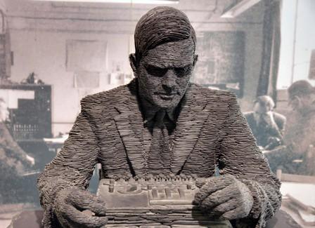Representación de Alan Turing