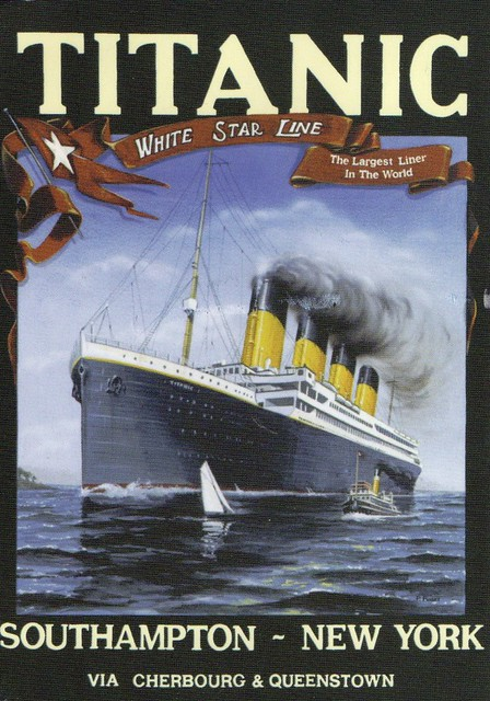 Titanic Card No.125