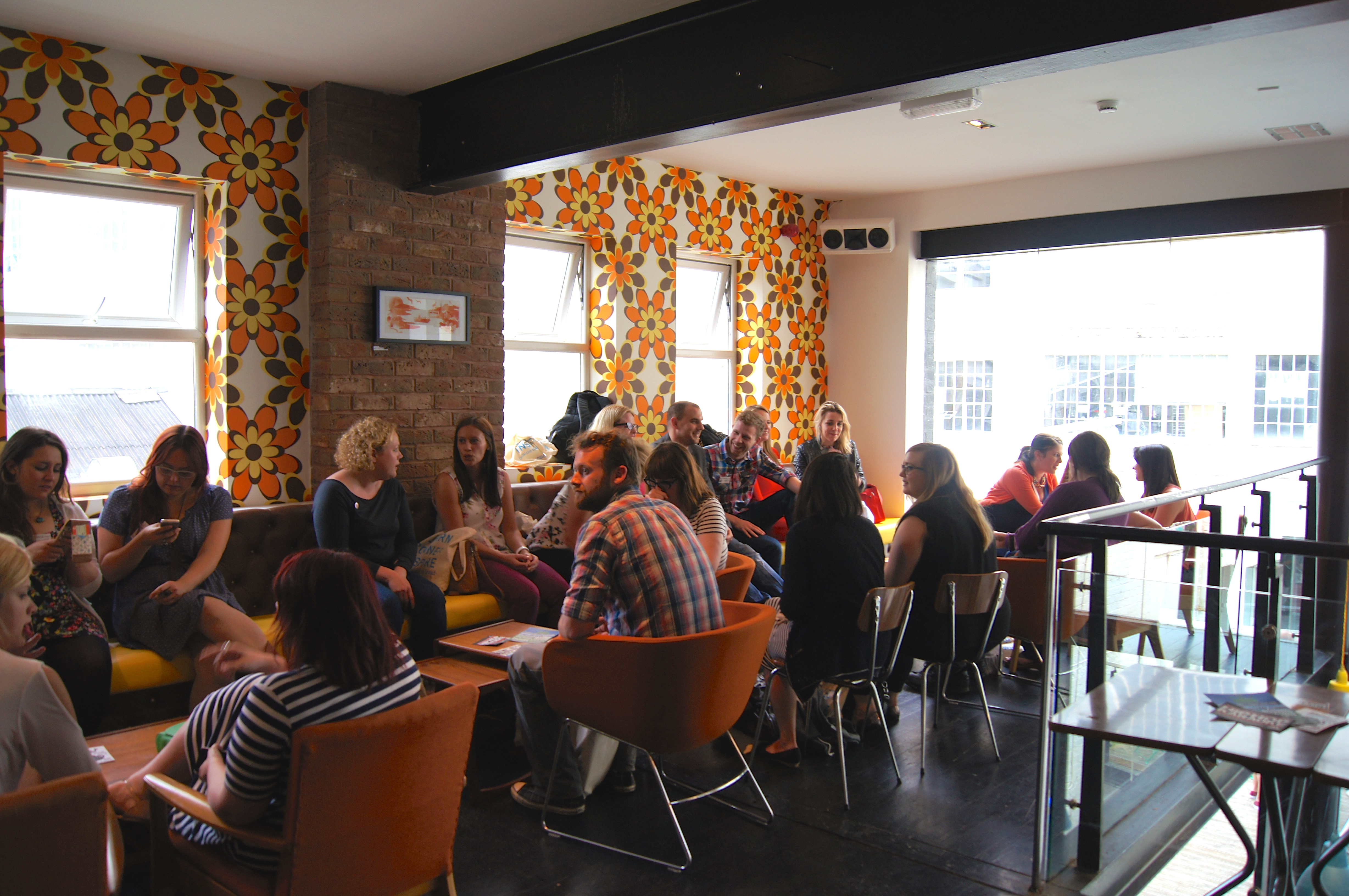 A Blogger Party at Alfie Birds, Birmingham