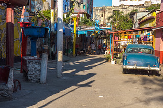 Recycled material sculptures and artwork on Hamels Alley in Havana, Cuba-3-2.jpg | by crystalcastaway