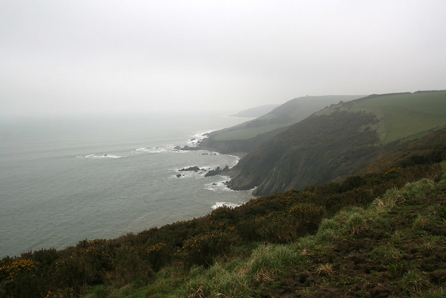 View back to Stoke Beach