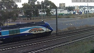 XPT ST23 to Melbourne from Sydney at Albion (SG) 4-4-2015 | by kubcam1