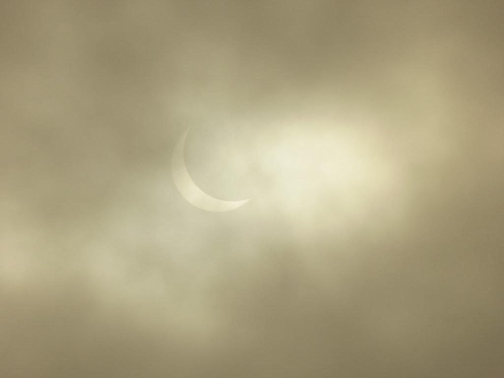 9.19.48. Partial solar eclipse.