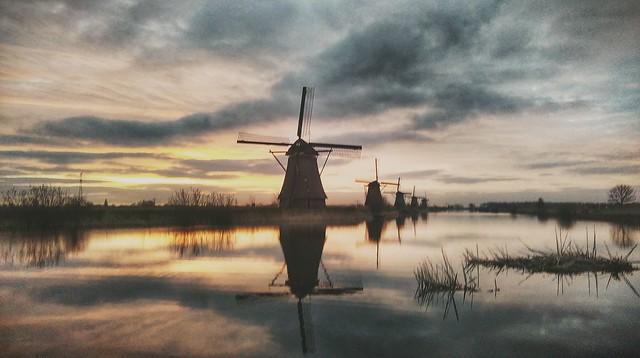 Kinderdijk,South Holland, The Netherlands.