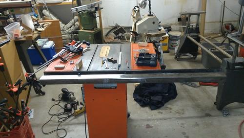 David Spahn - DIY Table Saw Guide Rails | by VerySuperCool TOOLS