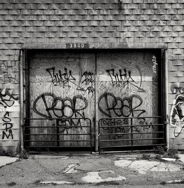Tagged doors...